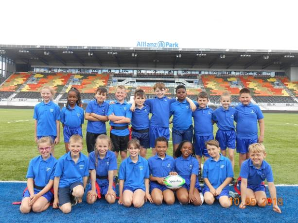 Year 4 tag rugby 2